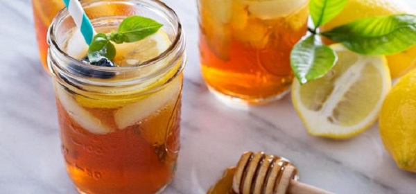 water with honey on an empty stomach