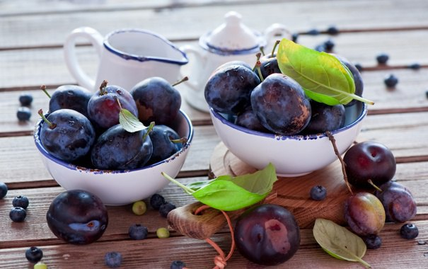 how to keep plums