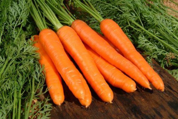 good carrot harvest