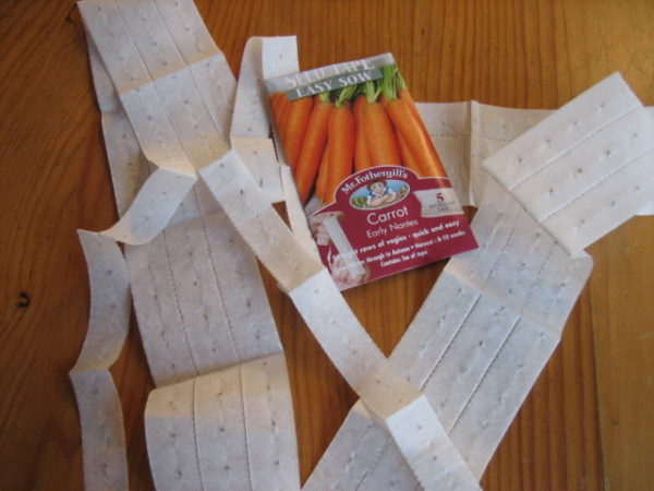 make a seed ribbon yourself